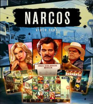 Narcos on NetEntin uusin ja kuumin kolikkopeli